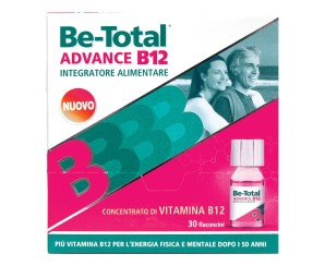 Betotal  Vitamine e Minerali Be-Total Advance B12 Integratore 30 Flaconcini