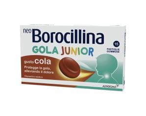 Alfasigma Neoborocillina Gola Junior 15 Pastiglie Cola