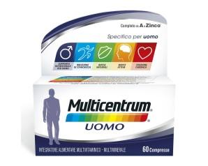 Pfizer Italia Div.consum.healt Multicentrum Uomo 60 Compresse