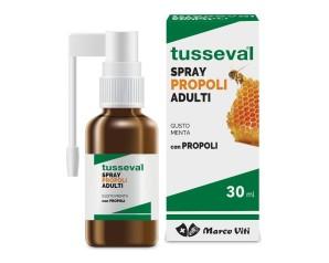 Marco Viti Farmaceutici Tusseval Gola Propoli Spray Per Adulti Integratore 30 Ml