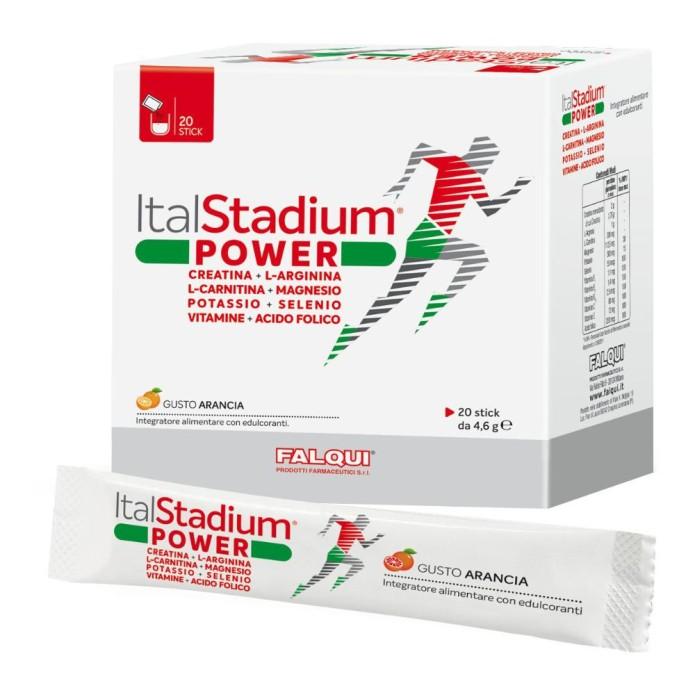 Falqui Prodotti Farmac. Italstadium Power Integratore Alimentare 20 Stick