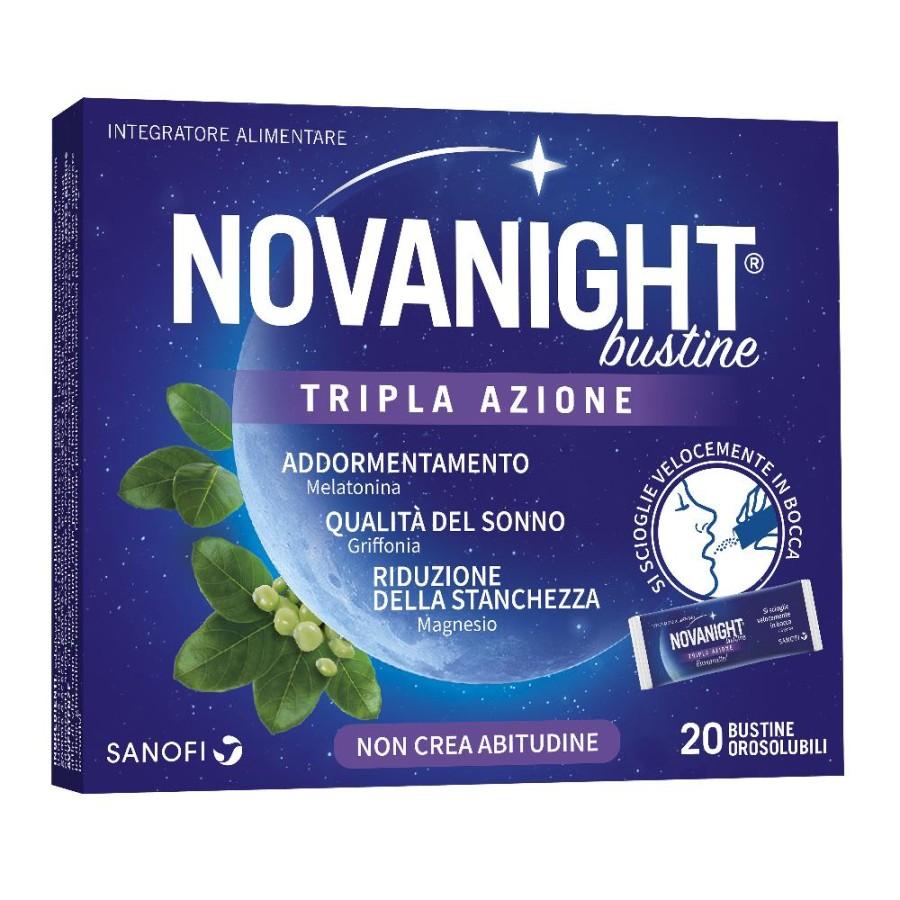 Sanofi Novanight 20 Bustine Tripla Azione