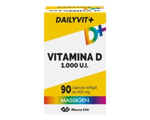 MASSIGEN DailyVit+D 1000 90Cps