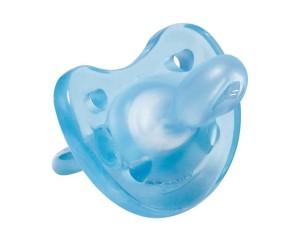 Chicco Gommotto Physio Soft In Silicone Azzurro 6 12 Mesi