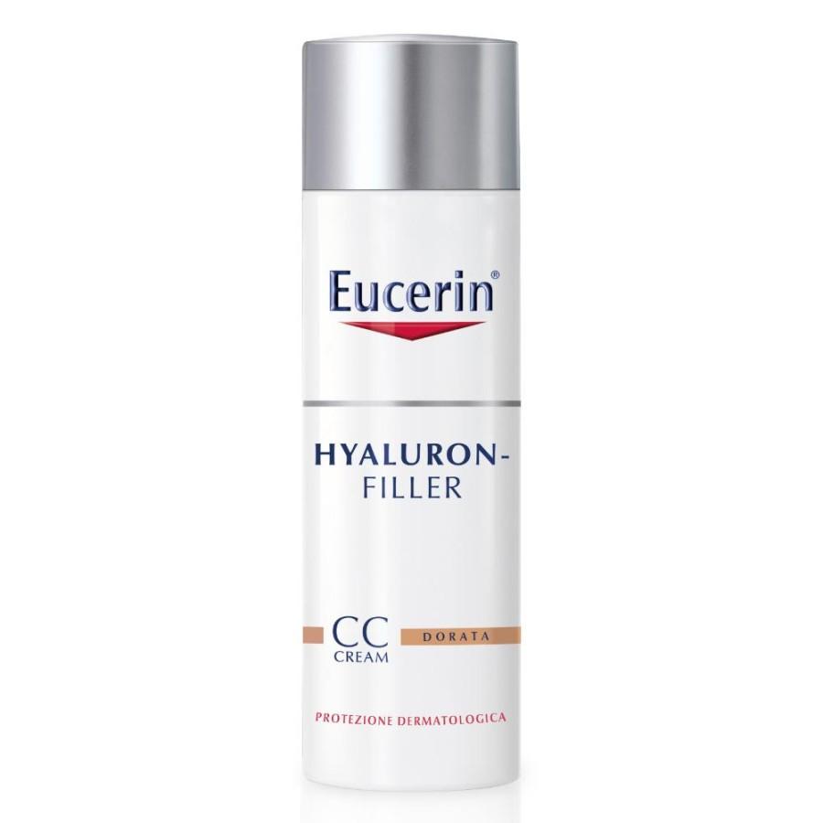 Eucerin Hyaluron Filler Trattamento Antirughe CC Cream Dorata 50 ml