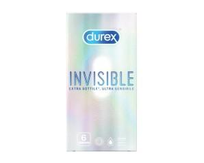 Durex  Invisible Profilattici 6 pezzi