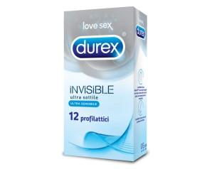 Durex Invisible Profilattici 12 Pezzi