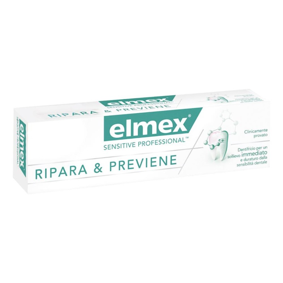 Elmex Sensitive Professional Ripara & Previene Dentifricio 75ml