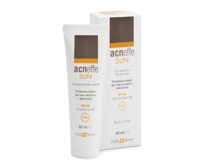 Cieffe Derma Acneffe Sun Protezione Solare Spf 30 Per Cute Acneica 50 ml