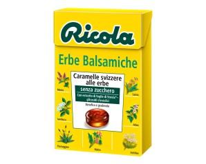 Ricola Erbe Balsamiche Caramelle Erbe Senza Zucchero 50 g