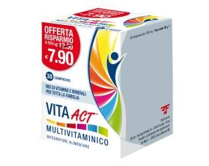F&f Vita Act Multivitaminico 30 Compresse