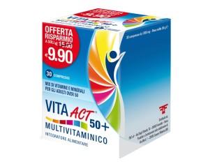 Linea Act Vita Act 50+ Multivitaminico Integratore Alimentare 30 Compresse