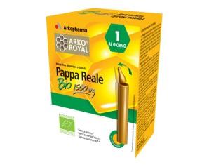 Arkoroyal Pappa Reale Bio 1500 Mg 10 Flaconcini Monodose 15 Ml