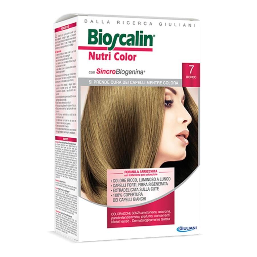 Bioscalin  Nutri Color SincroBiogenina Colorazione Capelli Tinta 7 Biondo
