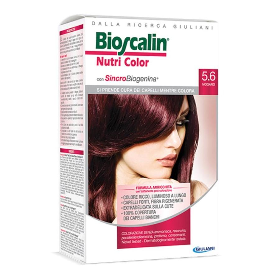 Bioscalin  Nutri Color SincroBiogenina Colorazione Capelli Tinta 5.6 Mogano
