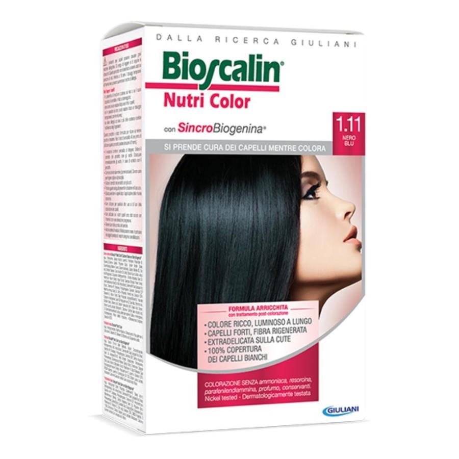Bioscalin  Nutri Color SincroBiogenina Colorazione Capelli 1.11 Nero Blu