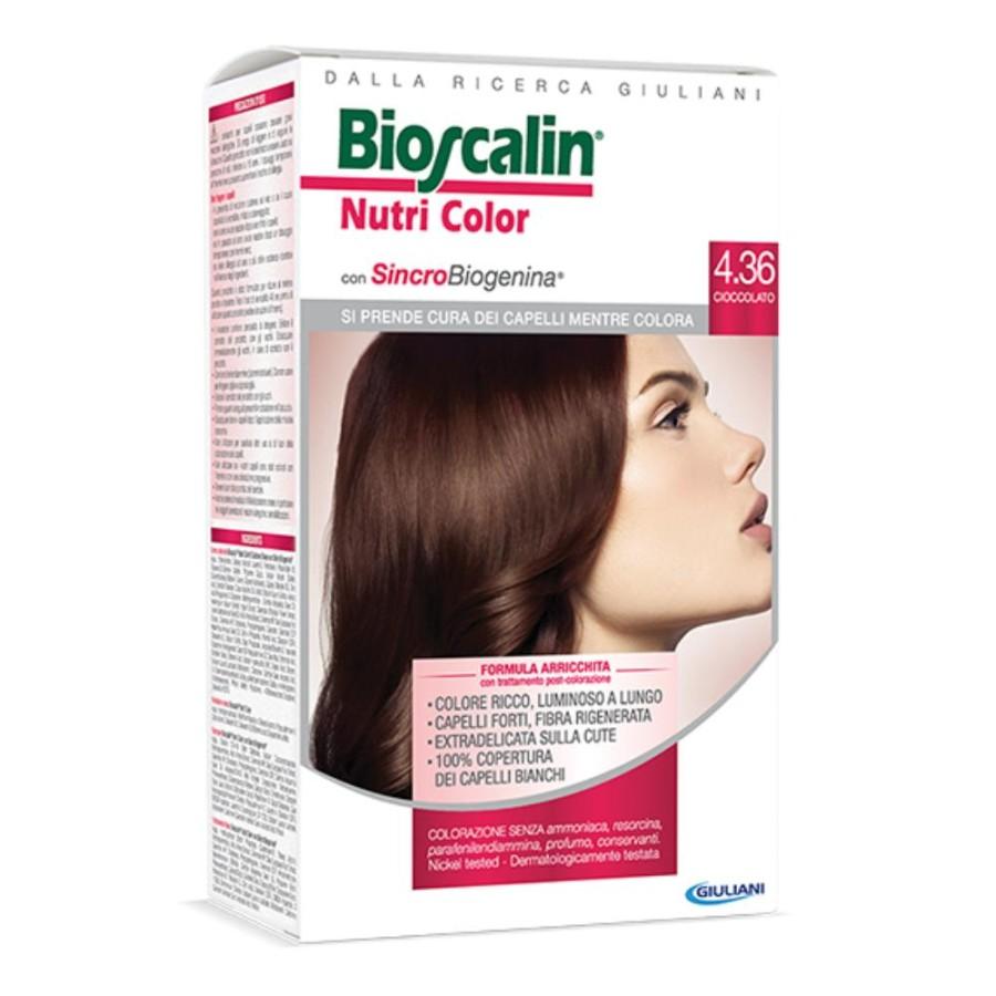 Bioscalin  Nutri Color SincroBiogenina Colorazione Capelli 4.36 Cioccolato