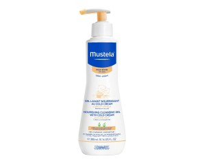Mustela Detergente Nutriente Gel Lavante Nutri Protettiva alla Cold Cream 300ml