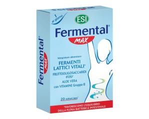 Esi Fermental Max Fermenti Lattici Integratore Alimentare  20 Capsule