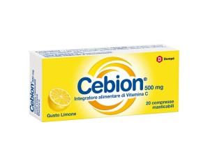CEBION MAST LIMONE VIT C 20CPR