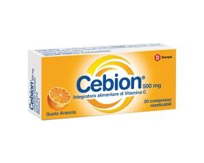 Dompe' Farmaceutici Cebion Masticabile Arancia Vitamina C 20 Compresse