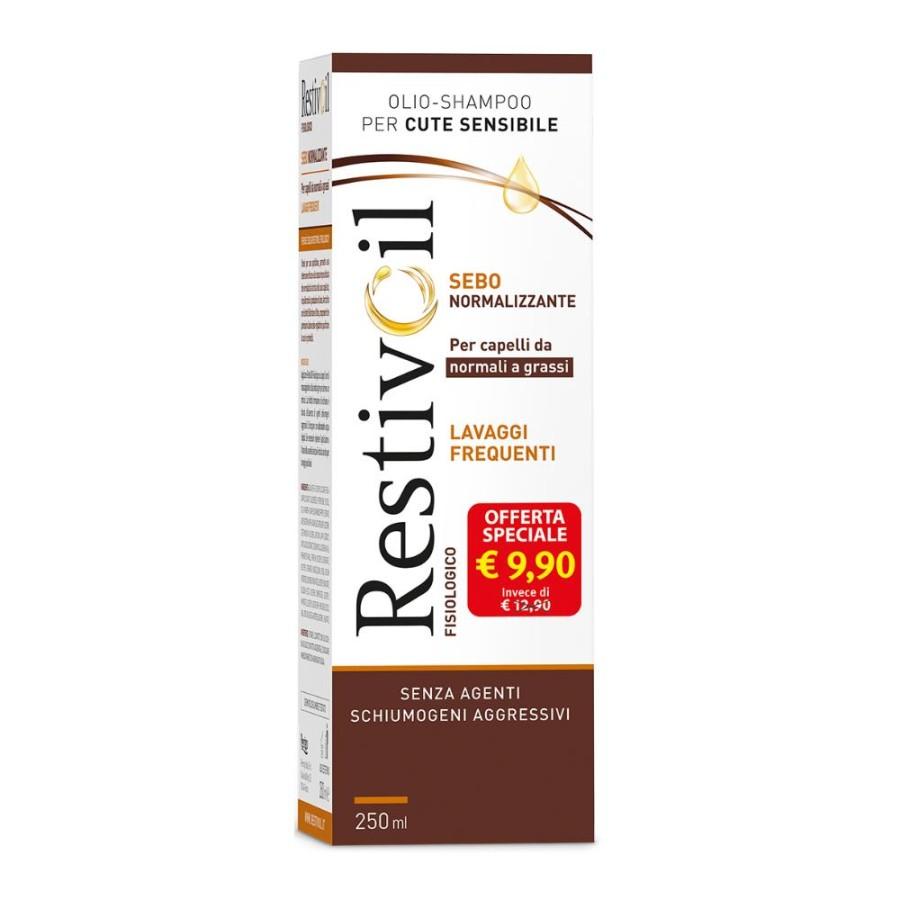 RestivOil Fisiologico Sebonormalizzante Olio Shampoo 250 Ml
