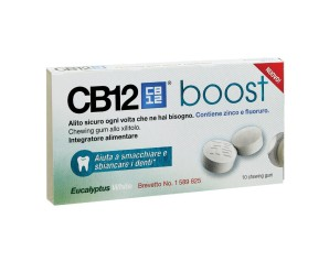 Omega Pharma Cb12 Boost  All'Eucalipto 10 Chewing Gum
