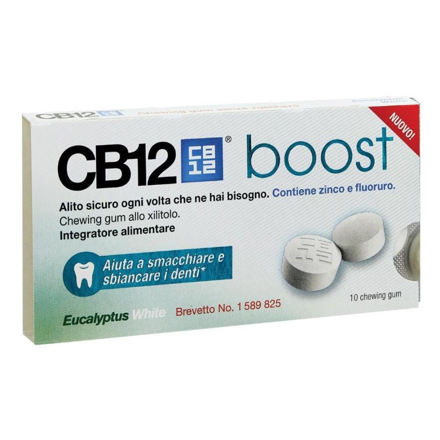 Omega Pharma Cb12 Boost  All'Eucalipto 10 Chewing Gum