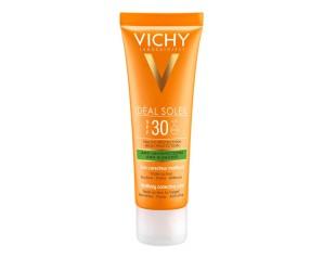 Vichy  Ideal Soleil SPF30 Trattamento Mat Imperfezioni Tripla Azione 50 ml