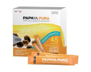 Papaya Pura 45 Bustine Da 3 G Integratore Alimentare Orosolubile