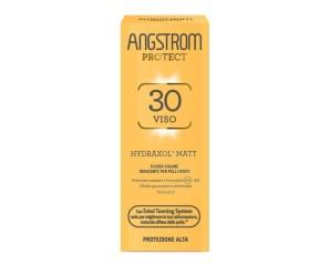 Angstrom Hydraxol Matt Protezione Viso Fluido Alta 30 40 ml