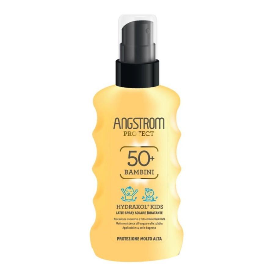 Angstrom Protettivo Idratante Hydraxol Kids Latte Solare Spray 50+ 175 ml