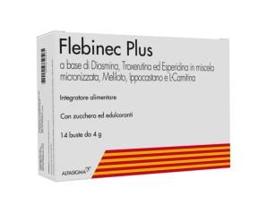 Alfasigma Flebinec Plus Integratori Alimentari 14 Bustine