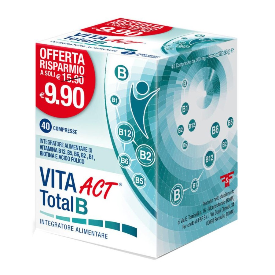 Linea Act Vita Act Total B Integratore Alimentare 40 Compresse