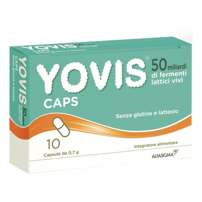 Yovis Caps 50 Miliardi Fermenti Lattici Integratore Alimentare 10 Capsule