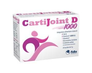 Fidia  Articolazioni Sane CartiJoint D Integratore Alimentare 20 Buste