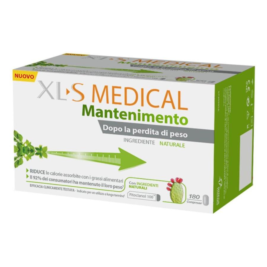 XL-S Medical Natural Control Integratore Perdita di Peso 180 Compresse