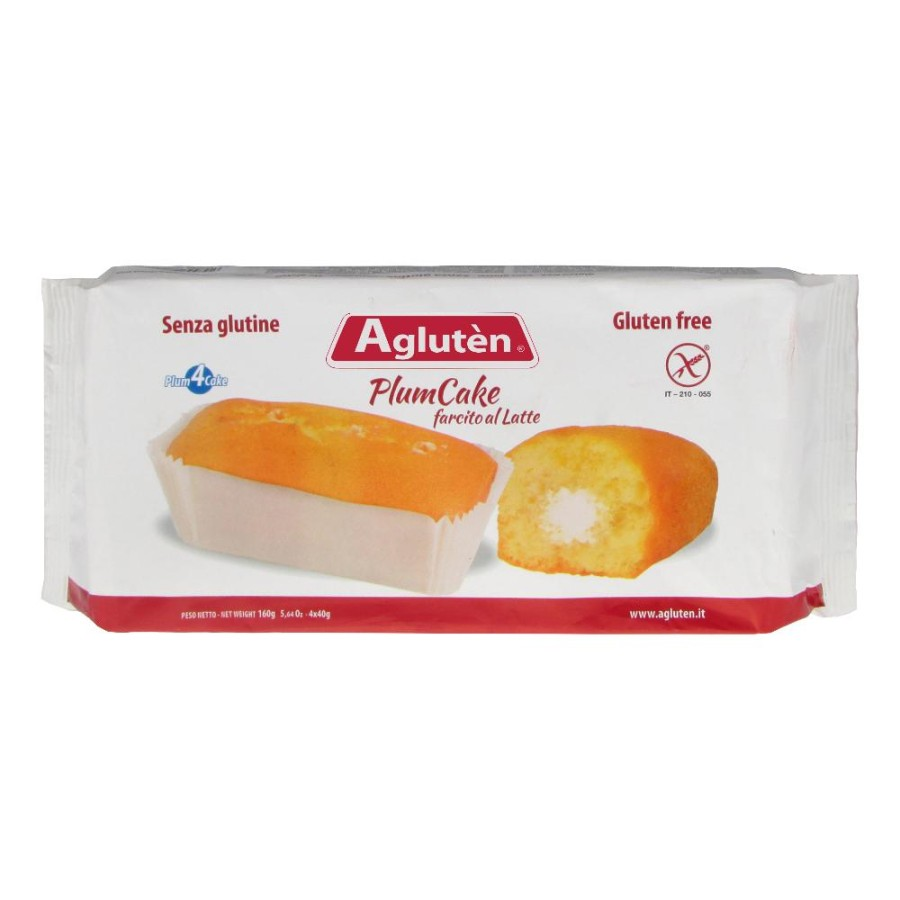 Nove Alpi Agluten Plum Cake Farcito Al Latte 160 G