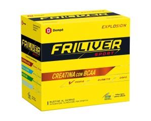 Dompe' Farmaceutici Friliver Sport Explosion Creatina 3 G Bcaa