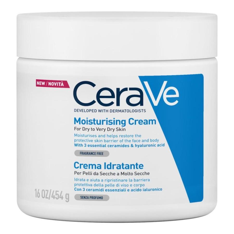 Cosmetique CeraVe Active Crema Cerave Idratante Pelle Secca Corpo e Viso 454ml