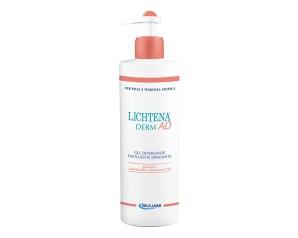 Lichtena  Derm AD Gel Detergente Emolliente Idratante Pelli Atopiche 400 ml