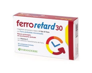 FERRO RETARD 30CPR