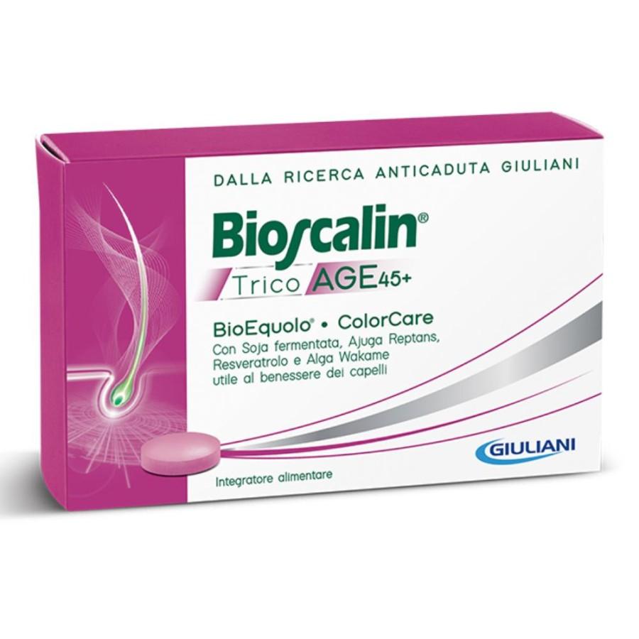 Bioscalin  Tricoage 45+ R-Plus BioEquolo Anticaduta Integratore 30 Compress