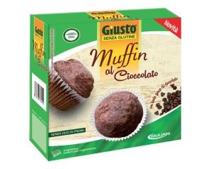 GIUSTO S/G Muffin Ciocc.200g