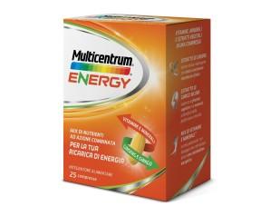 Multicentrum  Vitamine Minerali Energy Integratore Alimentare 25 Compresse