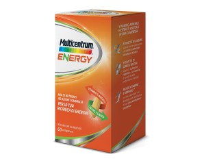 Multicentrum  Vitamine Minerali Energy Integratore Alimentare 60 Compresse