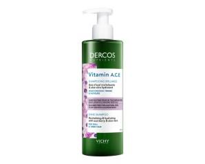 Dercos  Detox Nutrients Shampoo Illuminante Vitamine A C E 250 ml