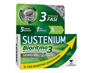 A.menarini Ind.farm.riun. Sustenium Bioritmo3 Uomo 60+ 30 Compresse