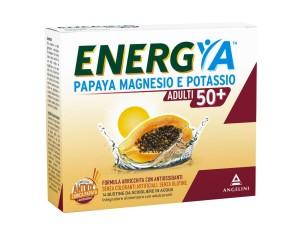 Angelini Energya Papaya Magnesio Potassio 50+ 14 Bustine