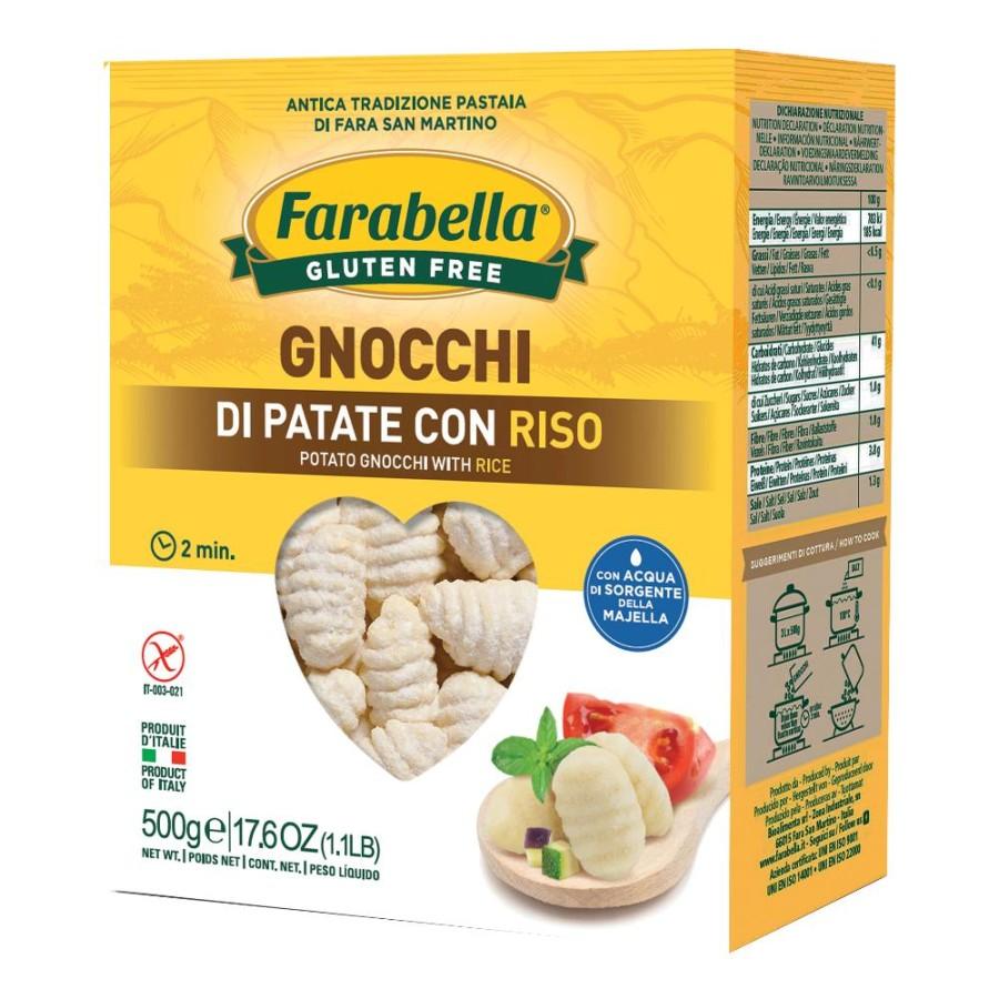 FARABELLA GNOCCHI PAT RISO500G